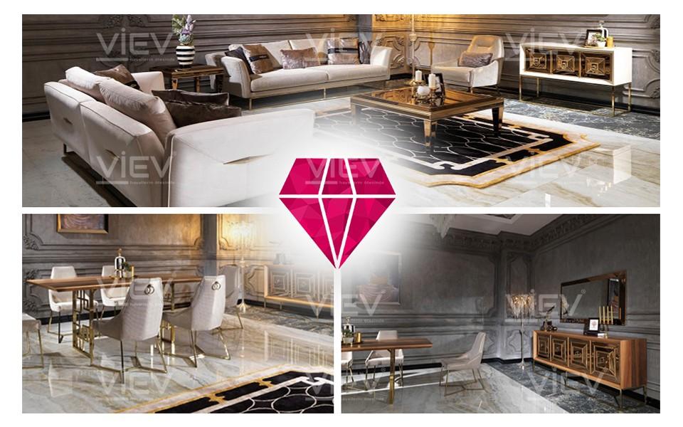 Grande Luxury Salon Takımı