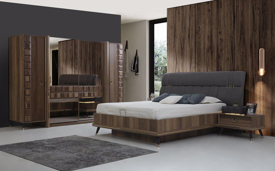 Paris Ceviz Yatak Odası