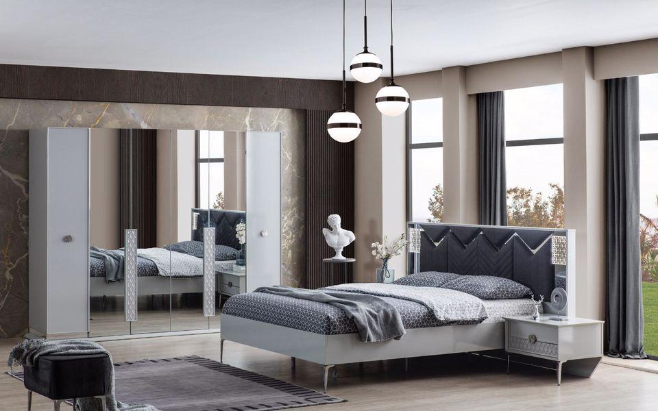 Grey Yatak Odası Takımı
