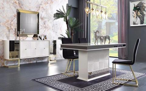 İnci Luxury Yemek Odası Takımı