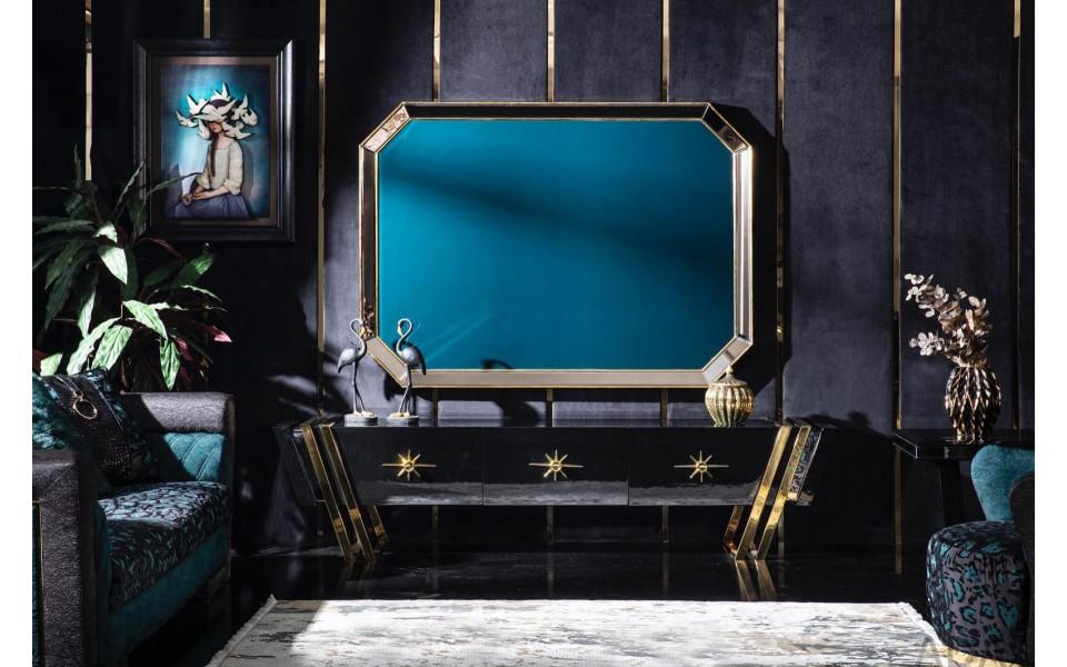 Black Gold Luxury Duvar Ünitesi