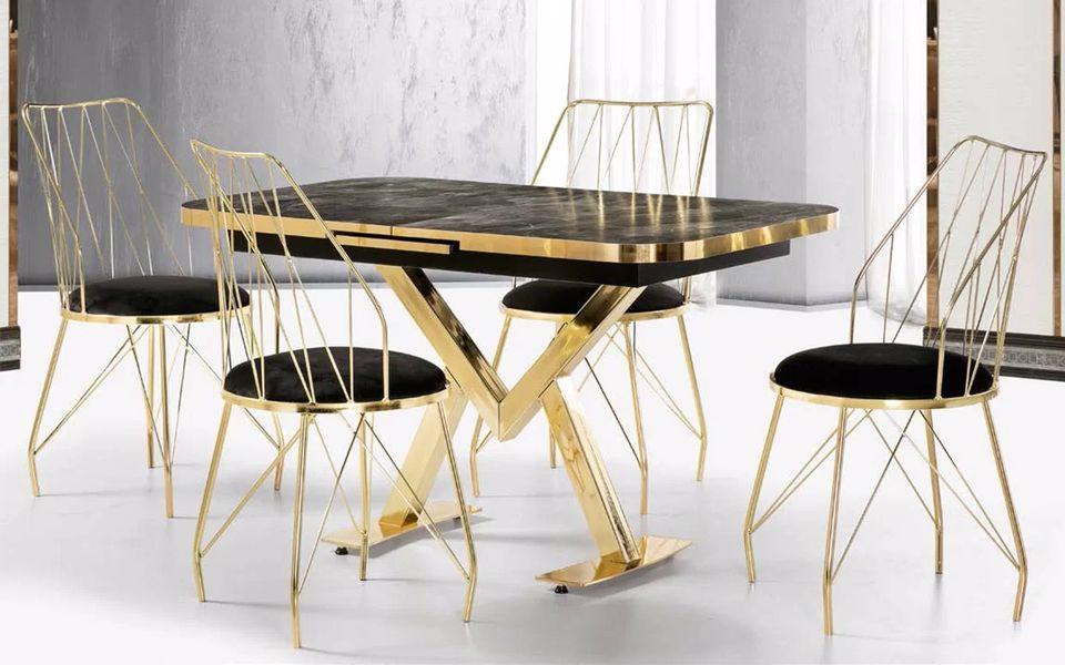 Gold Mutfak Masa Sandalye Takımı