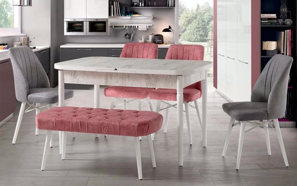 Hera Mutfak Masa Sandalye Takımı