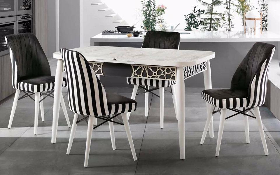 Pierloti Mutfak Masa Sandalye Takımı