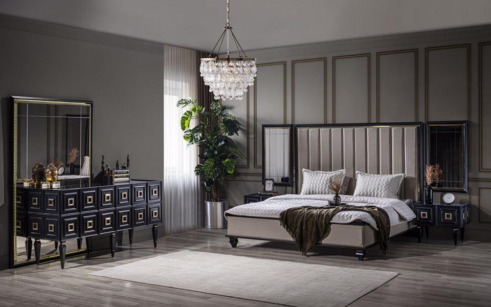 Legend Luxury Siyah Yatak Odası Takımı