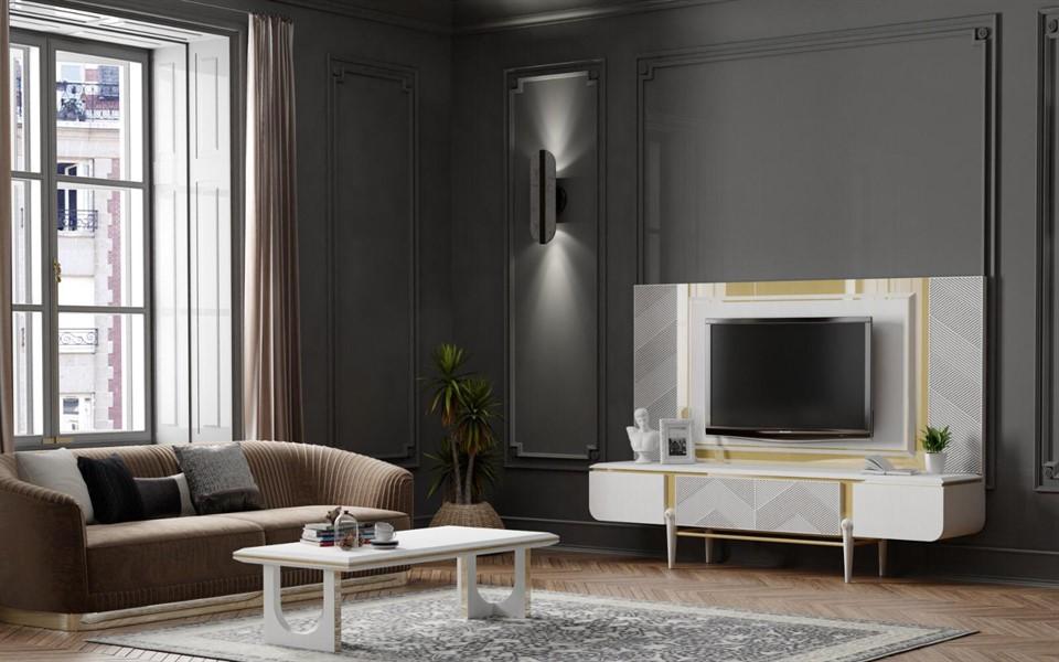 Boston Luxury Tv Ünitesi Takımı