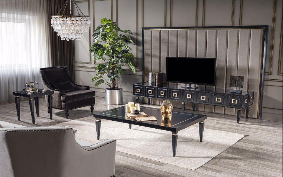 Legend Luxury Siyah Tv Ünitesi
