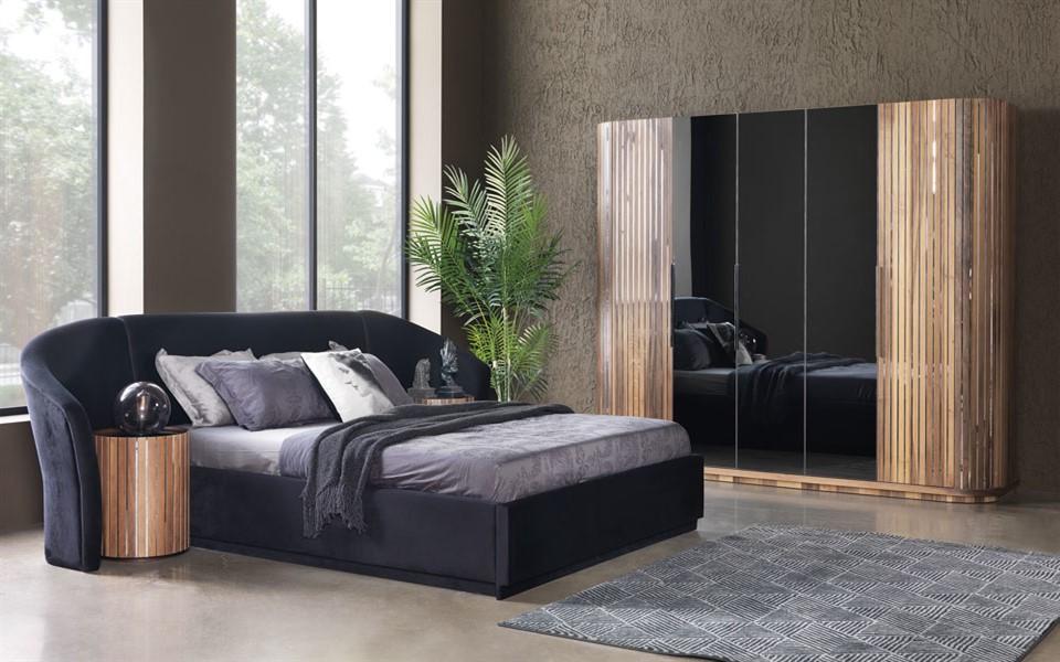 Alyans Ceviz Yatak Odası