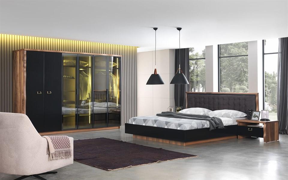 Paris Kütük Yatak Odası Takımı