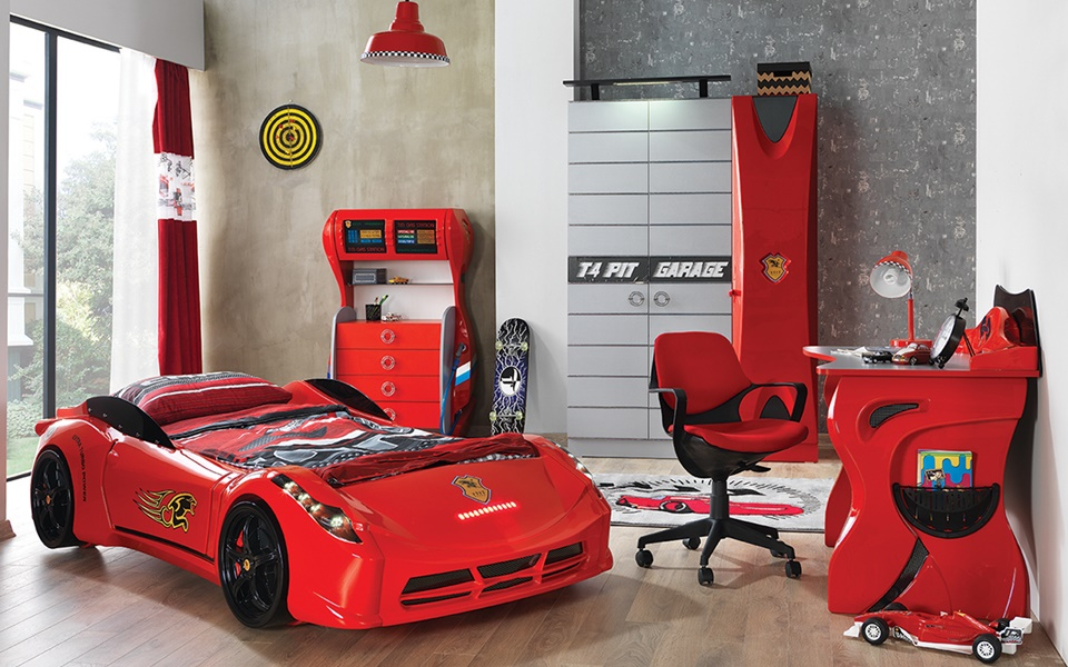 Garage Car Cocuk odası Takımı