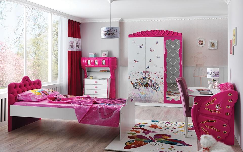 Princess Basic Çocuk Odası Takımı
