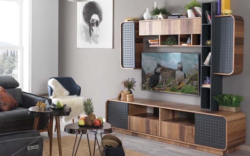 Batıkan Modern TV Ünitesi
