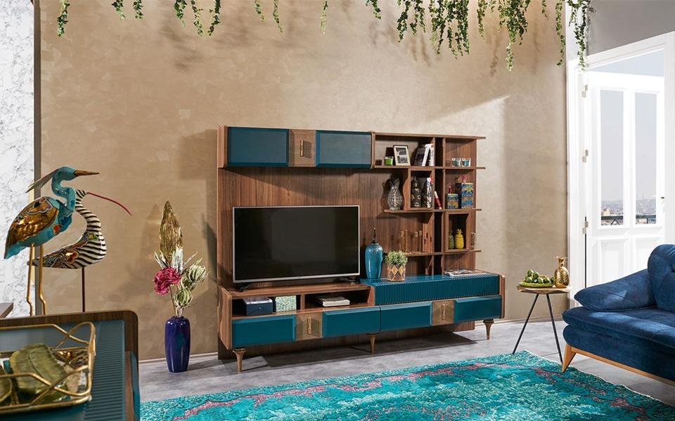 Fizzi Modern Duvar TV Ünitesi