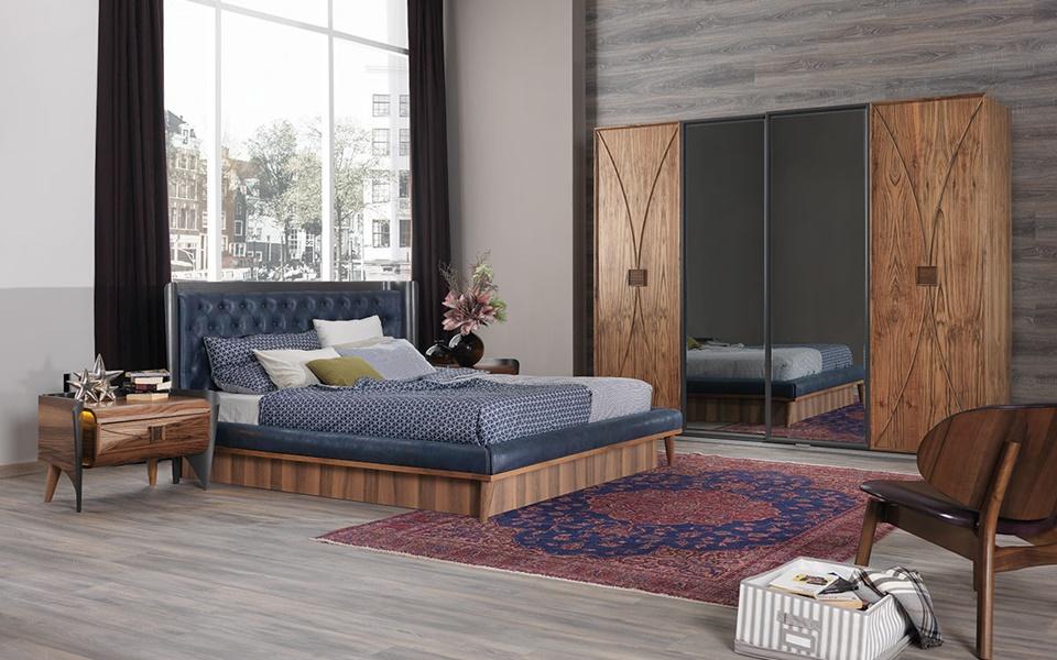 Curve El Yapımı Yatak Odası Takımı