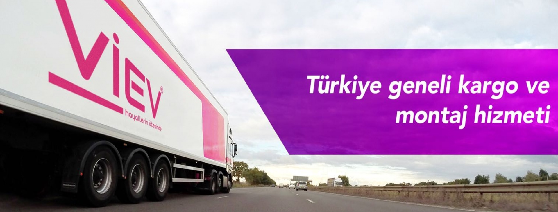 Tüm Türkiye'ye Kargo İmkanı