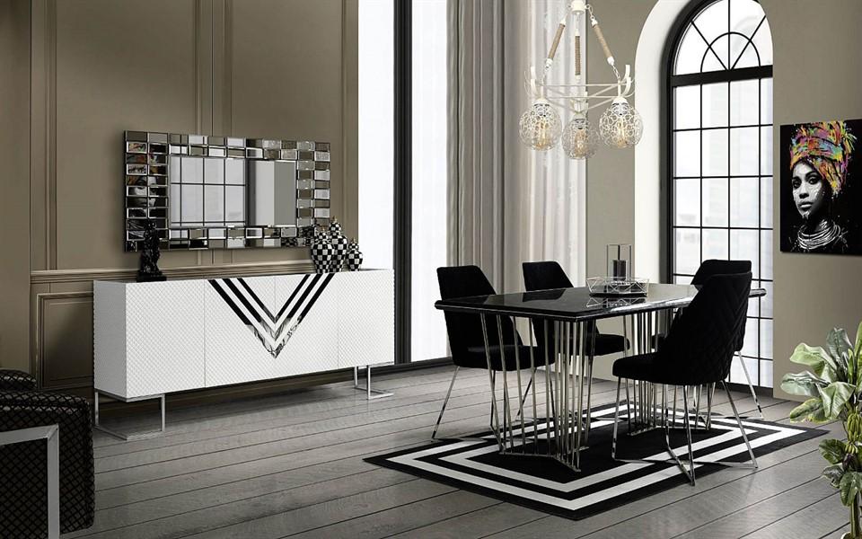 Vip Luxury Yemek Odası Takımı